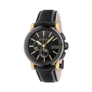 G-Chrono Chronograph Black Dial Men's Watch