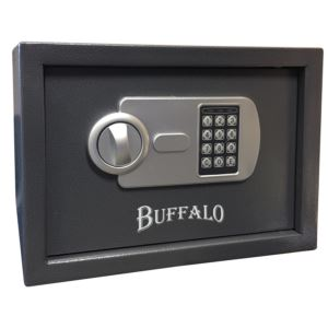 Personal Safe w/ Keypad Lock Black