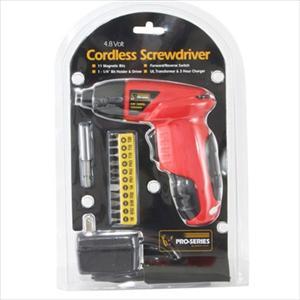 4.8 Volt Cordless Screwdriver