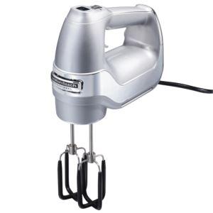 7 Speed Hand Mixer w/ Storage Case Silver