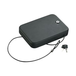 Portable Security Case with Key Lock - Small
