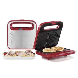 2PC-Heart Waffle Maker