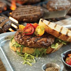 8 (4 oz.) Gourmet Burgers