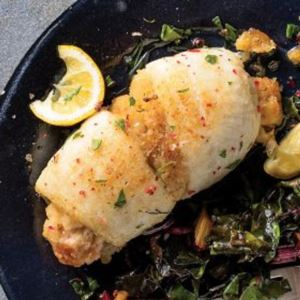 12 (4.5 oz.) Stuffed Sole with Scallops & Crabmeat