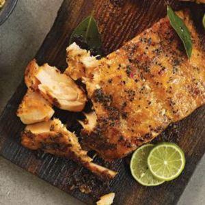 8 (6 oz.) Marinated Salmon Fillets