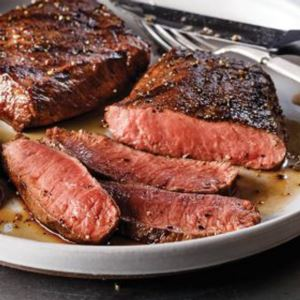 4 (7 oz.) Flat Iron Steaks