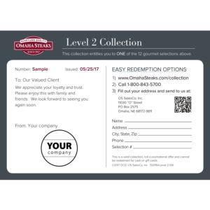 Custom Certificate Gourmet Level 2- Executive