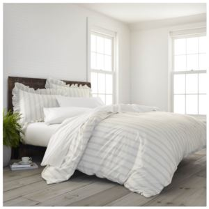 Comfort Wash Brooke Comforter Set - (Gray)