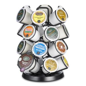 K-Cup Storage Deluxe Spinning Carousel 24 ct.