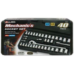 40 - Piece Mechanics Socket Set in Case