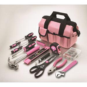 Ladies Project & Repair Tool Kit/ Pink