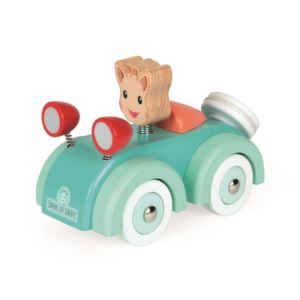 Sophie Giraffe Wooden Car Ages 1+ Years