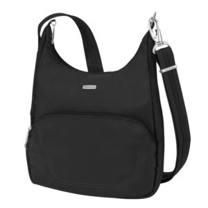 Anti-Theft Classic Essential Messenger Bag Black