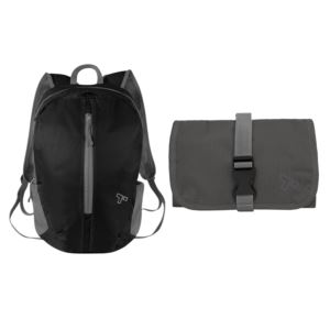 Packable Backpack & Tech Accessory Organizer