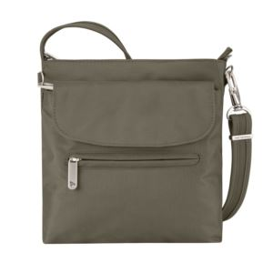 Anti-Theft Classic Mini Shoulder Bag Nutmeg