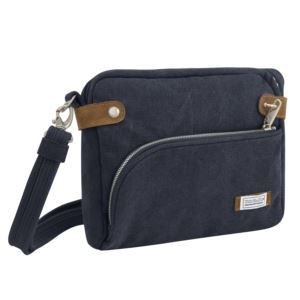 Anti-Theft Heritage Crossbody Bag Indigo