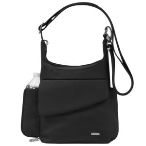 Anti-Theft Classic Messenger Bag Black