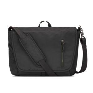 Anti-Theft Urban Messenger Bag Black