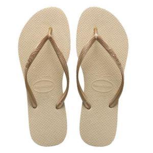 Womens Slim Flip Flops-