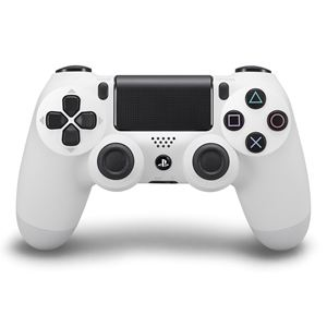 PS4 DUALSHOCK 4 Wireless Controller-Glacier White