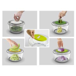 Multi-Prep 4 in 1 Salad Preparation Set