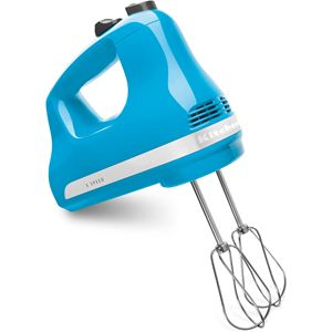 Ultra Power 5-Speed Hand Mixer in Crystal Blue