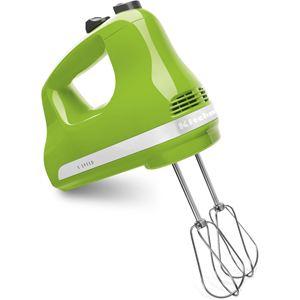 Ultra Power 5-Speed Hand Mixer in Green Apple