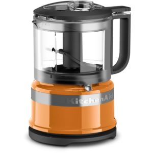 3.5-Cup Mini Food Processor in Tangerine