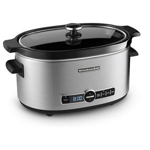 6-Quart Slow Cooker in Stainless Steel