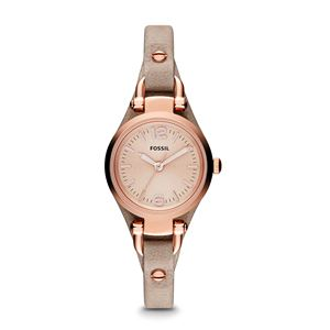 Ladies Georgia Mini Leather Watch - Sand