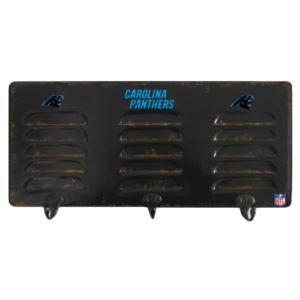 Carolina Panthers 3 Hook Metal Locker Coat Rack