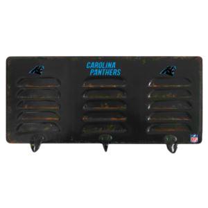 Carolina Panthers 3 Hook Metal Locker Coat Rack