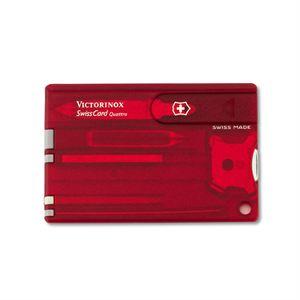 SwissCard Quattro- Ruby
