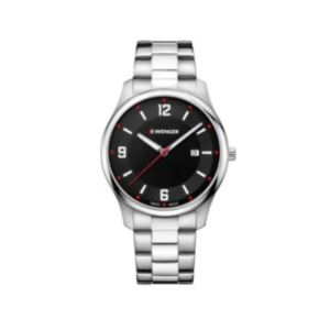 City Active Black Dial, Stainless Steel Bracelet Large - 43 mm