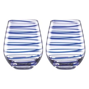 Charlotte Street Stemless Wine Glasses - (Set of 2)
