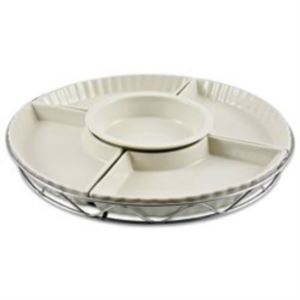 5 Piece Ceramic Lazy Susan