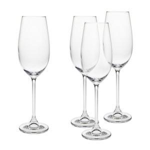 White Wine Glasses 4 PC Set