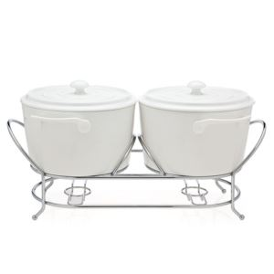 La Cucina Double Warmer - (White)