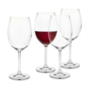 Red Wine Glasses 4 Piece Set