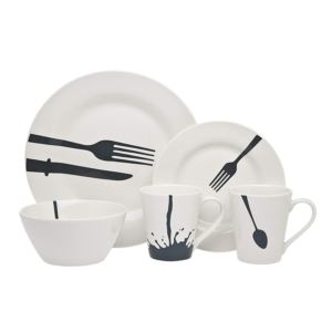 Acme Diner Dinnerware Set - (16 Piece)