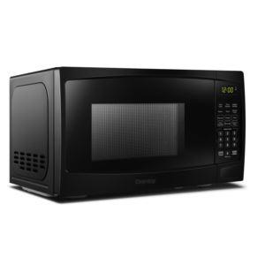 0.7 cu ft. Black Microwave