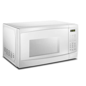 1.1 cu ft. White Microwave