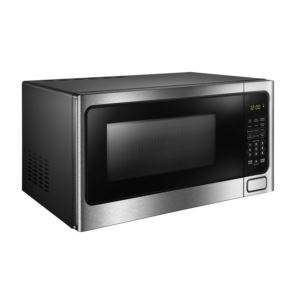Designer 1.1 cuft Microwave with Stainless Steel front