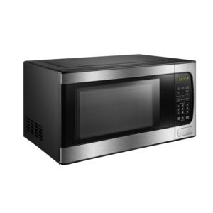 0.9 cu ft Microwave with Stainless Steel front