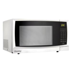 1.1 cu. ft. White Microwave