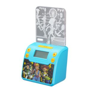 Toy Story 4 Night Light Alarm Clock with USB Charging