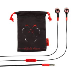 Minnie Mouse Noise Isolating Earbuds with Pouch