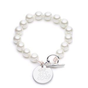 LRL 10mm Pearl Bracelet