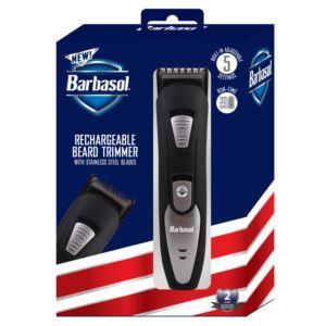 Barbasol Rechargeable Beard Trimmer