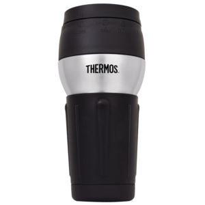 14oz Stainless Steel Travel Mug w/ 360-Degree Lid